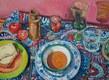 'Private pleasure'  Oil on canvas  60 x 80 cms  2015