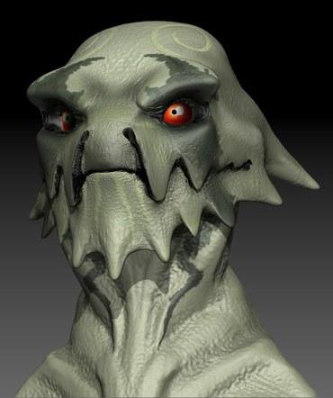 Alien Tribesman