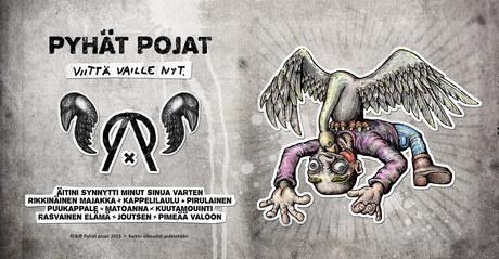Pyhät pojat - Viittä vaille nyt. CD