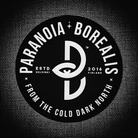 Paranoia Borealis logo sticker