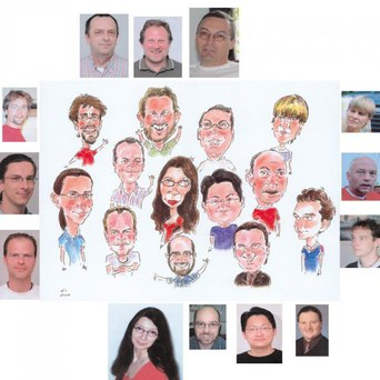 Groups caricatures