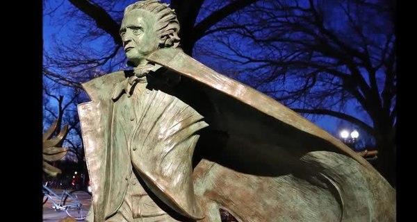 Edgar Allan Poe Statue - Boston