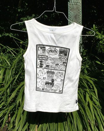 Sprouts Screen Print Design - Tank