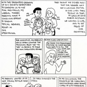 Feminism in my Life Comic