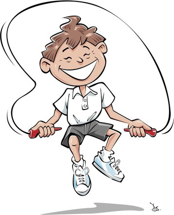 line art for children safety booklet