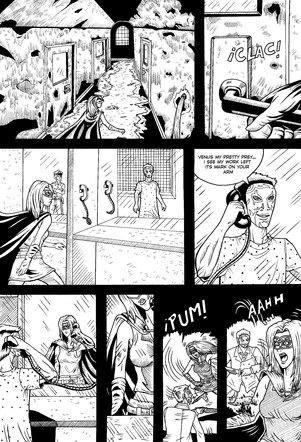 Venus Comic Page