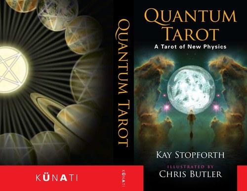 Quantum Tarot. Book Cover.