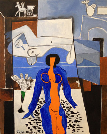 Zulma in Shadow, by Pablo Matisse