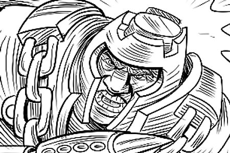 Masters of the Universe Inked Art