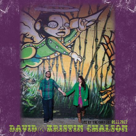 Chalson - Wedding CD Jewel Case Design