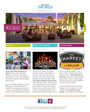 Belmar - Newsletter