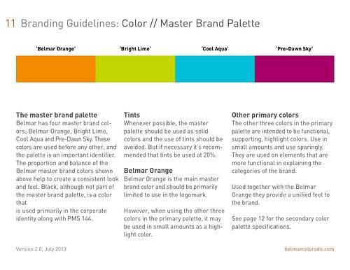 Belmar Brand Standards - pg11