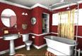 New design of master bathroom
