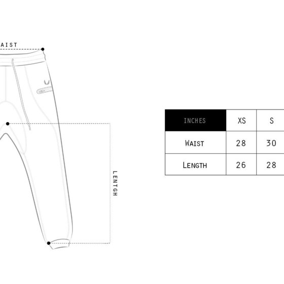 Sizing Chart Illustrations and Graphic Design