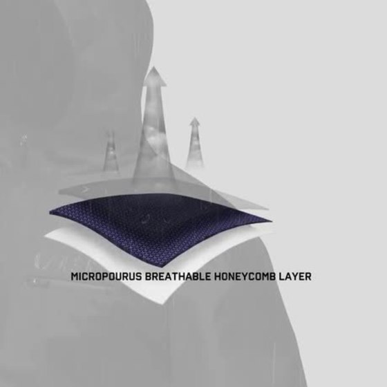 Animation for Hipora Fabric Technology