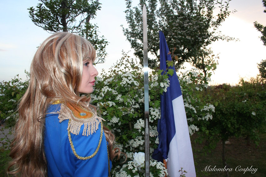 Lady Oscar Cosplay Manga Version Malombra Cosplay