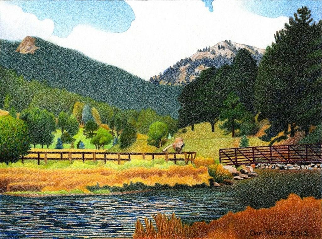 Evergreen Lake Spring