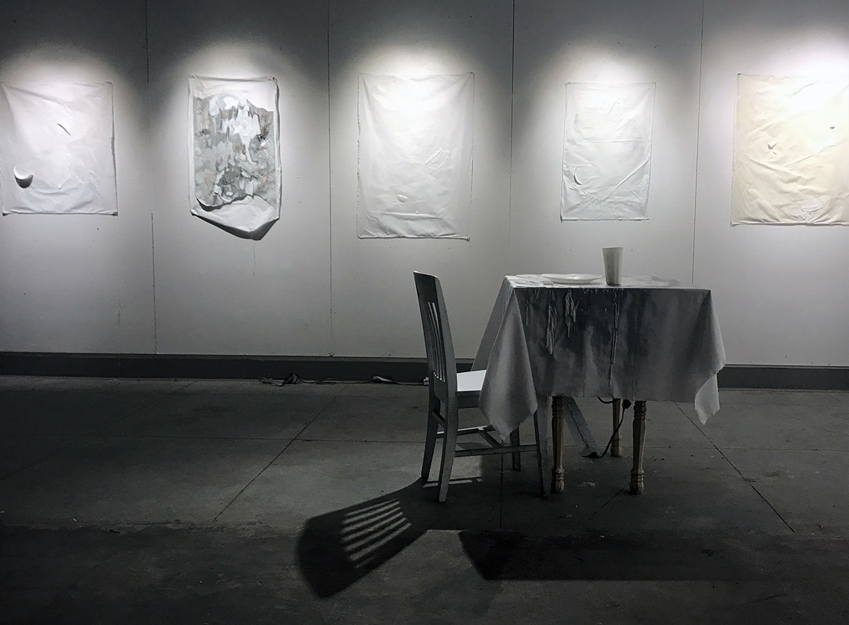 Ghosts of Dinners Past (Installation View)