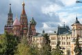 oscow, towers of St Basil Cathedral