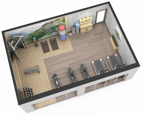 Sample Fitness Rendering