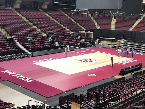 Texas A&M Reed Arena Temporary Court