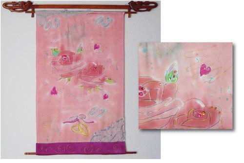 Silk Wall Art Commission