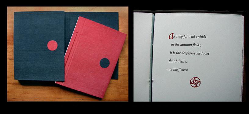 Private custom letterpress edition