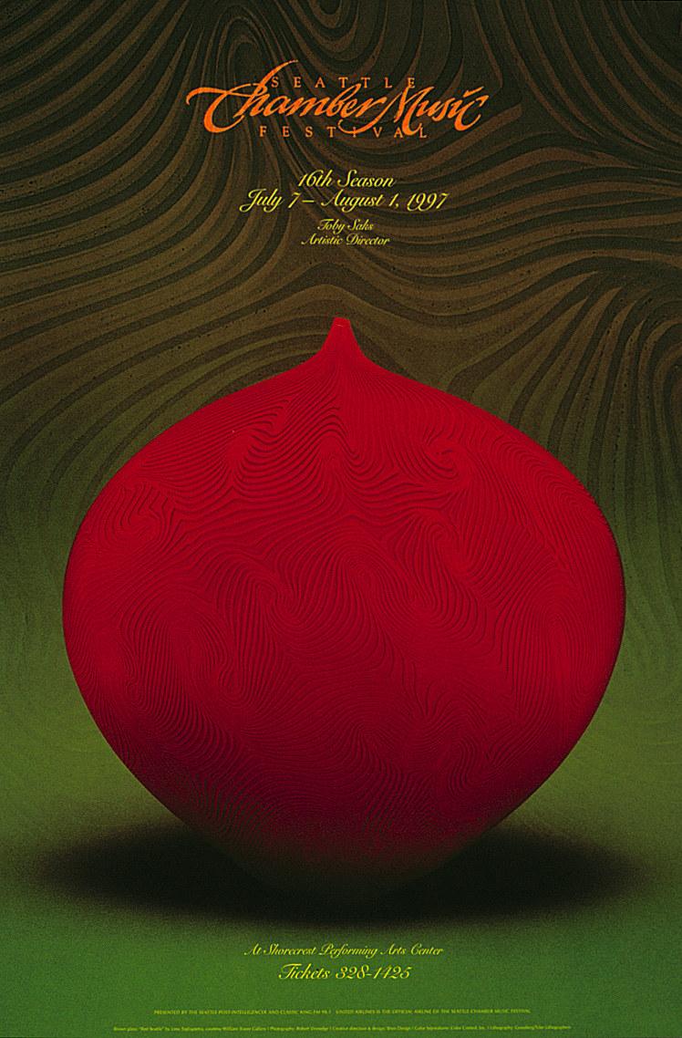 Seattle Chamber Music Festival poster