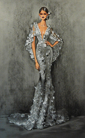 Marchesa Bridal Collection Spring 2017