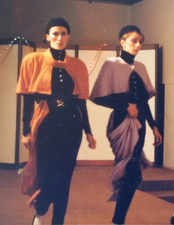 Cloaks from 1985 collection