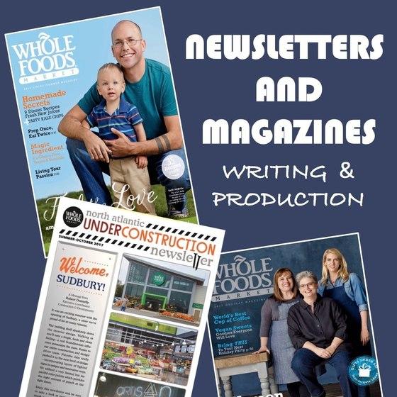 NEWSLETTERS & MAGAZINE PRODUCTION