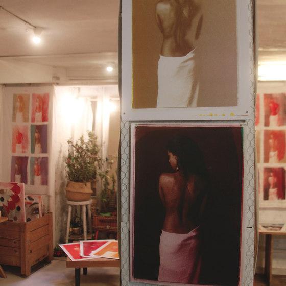 Exposición en galería Delgallo Malasaña Madrid febrero 2019