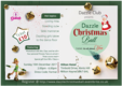 DAZZLE UK: CHRISTMAS BALL e-FLYER