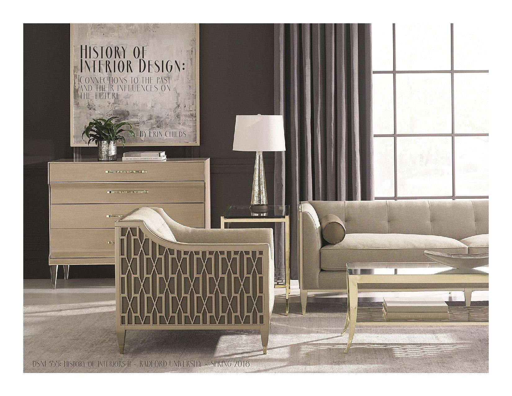 History Of Interior Design II