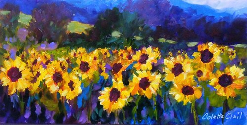French Sunflowers SOLD