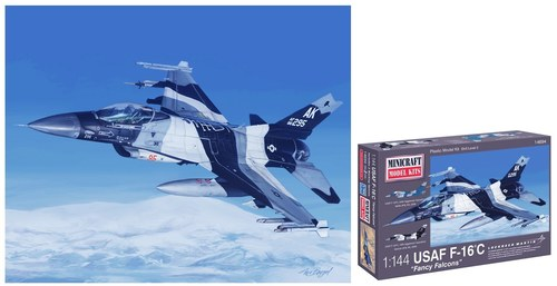 F-16 Modelling Kit Box Design