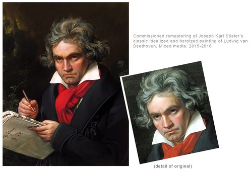 Ludwig van Beethoven (after Stieler)