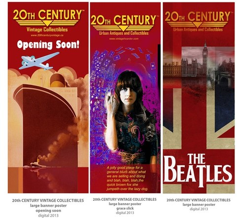 20th Century Banners