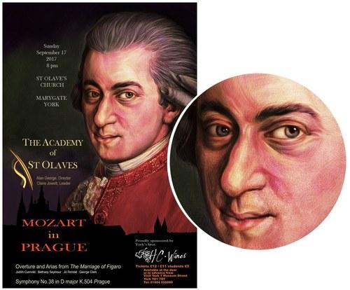 Mozart Concert Art / Poster