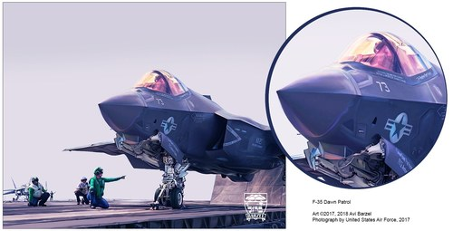 F-35C DAWN PATROL