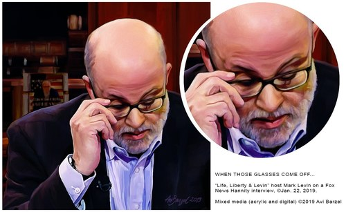 MARK LEVIN PORTRAIT