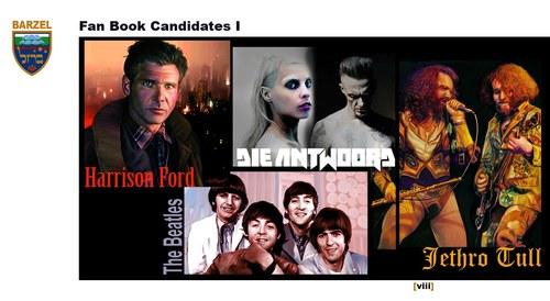 Fan Book Candidates I