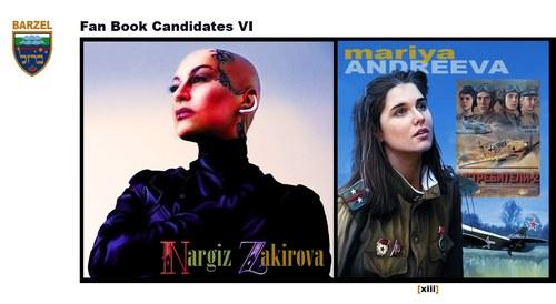 Fan Book Candidates VI