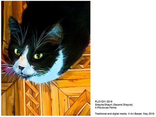 PLOVDIV 2019 A Plovdivian Feline