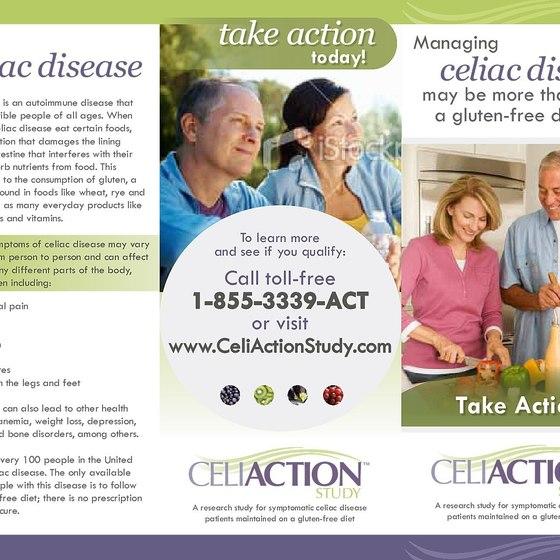 Celiac Clinical Trial (Healthcare/Brochure)