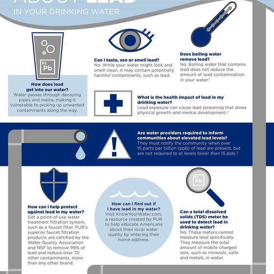 PUR Water Filters (Infographic)