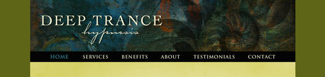 Deep Trance Hypnosis | Website Header