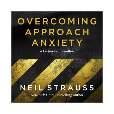 Overcoming Approach Anxiety | Audible Cover Design 1