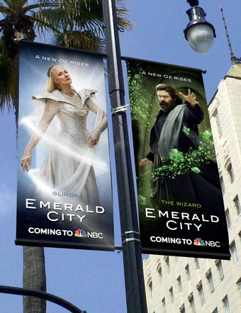 Emerald City | Pole Banners 2