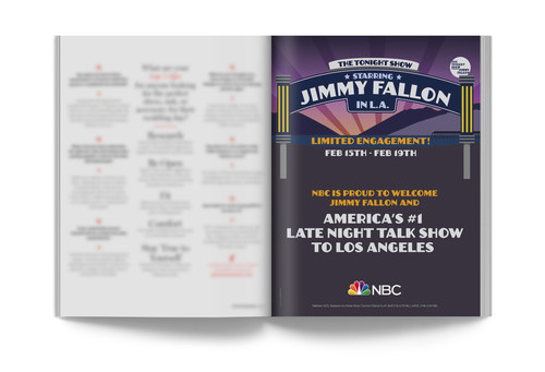 The Tonight Show | Full-Page Ad